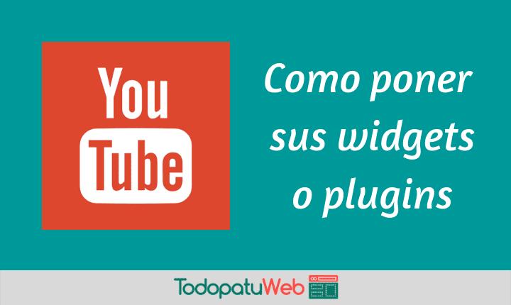 YouTube – Widget Botón de Suscripción para tu web