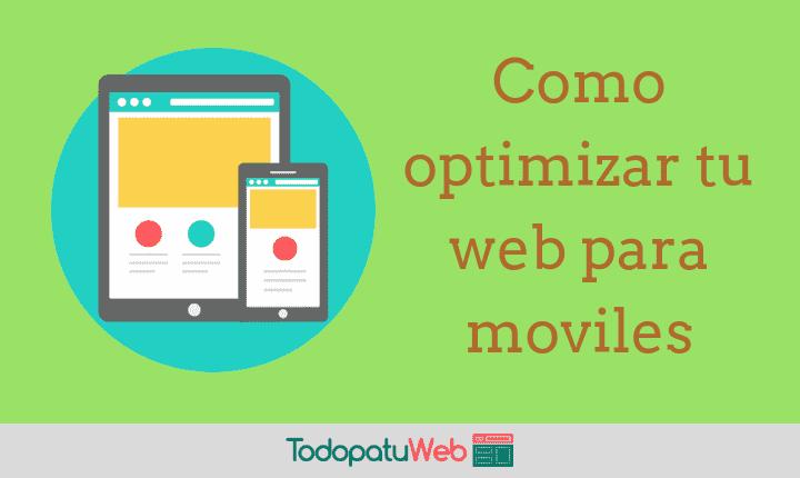 Crea una Versión Movil de Tu Web Gratis
