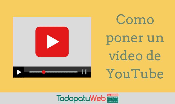 Como Insertar Videos de YouTube en Tu Web