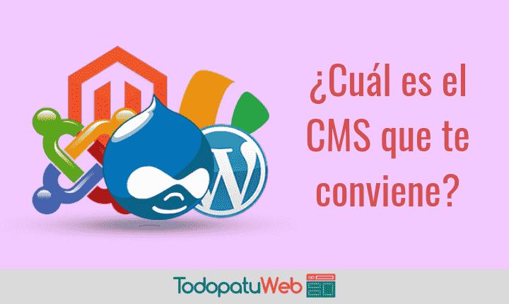 Como Elegir el CMS Perfecto para tu sitio web