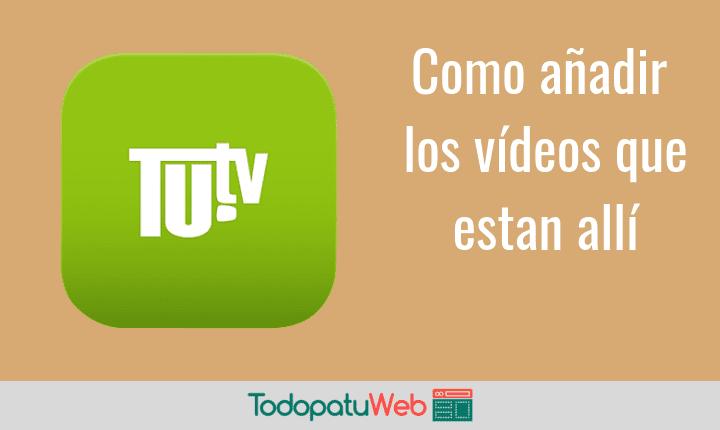 Como Insertar un Video de Tu.tv en Tu Web