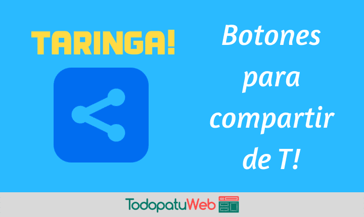 Poner Los Botones de Taringa! Para Compartir en tu Web