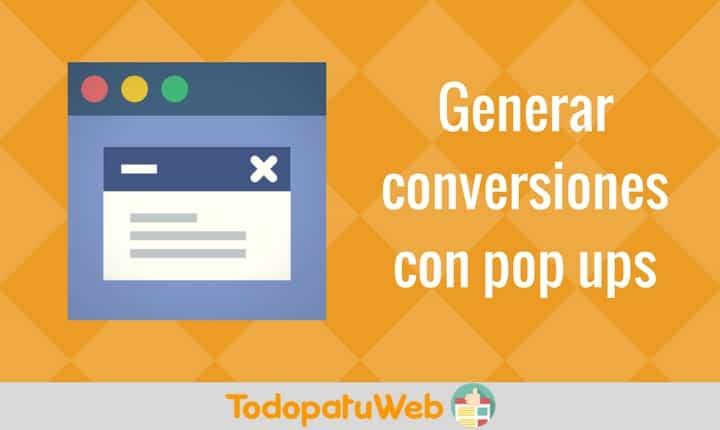 Pop up – ¿Qué es? y cómo crear uno fácil para tu página web