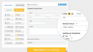 Crear formularios HTML sin programar