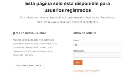 Registro de usuarios - Webnode