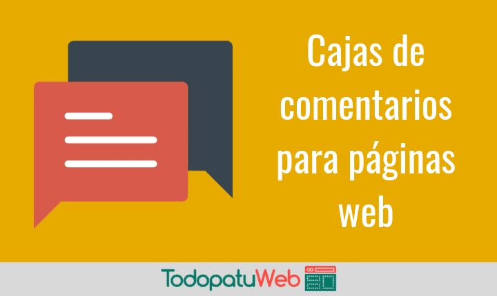 Como poner una caja de comentarios HTML5 en tu web